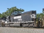 NS 6116 coming out of the Pilgrims Pride yard