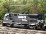 NS 3552 in the yard