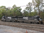 NS 3552 & NS 3549 in the yard