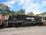 NS 2505, helper unit on the 44V grain train