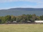 NS 9608 & 8861 leading the 44V grain train to Harrisonburg