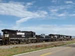 NS 9922, 9233, 8356, 872 & 8755, five of eight motors on the NB 38Q