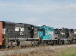NS 2643, EMDX 7102 and NS 101 on the NB 38Q