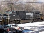 NS 9547 (C40-9W) on the SB 15T