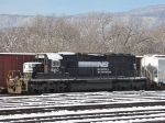 NS 6110 (SD40-2) sitting unassigned