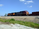 BNSF 671 and 7474