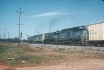 Late in their careers, 2 CSX U30C's