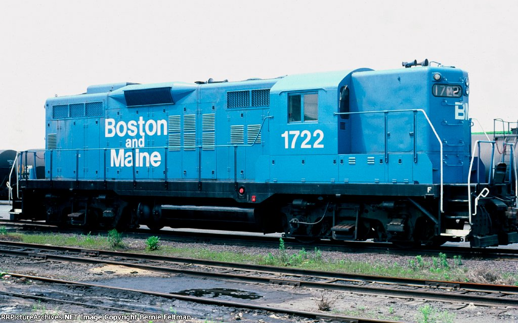 Boston & Maine GP9 #1722