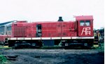 Albany Port Railroad S1 #1, acquired from Delaware & Hudson in 1963,