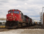 NB CN train at 55th St. Jct.