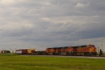 Dash 9's departing Clearing Yard