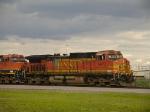 Tagged BNSF 5473
