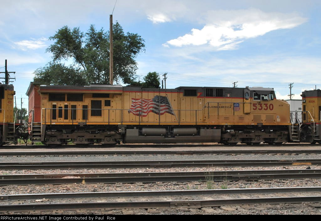 UP 5330, I Think This Is A AC45CCTE