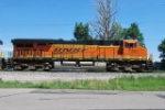 BNSF 7261, Leads The East Bound Beer Train