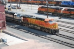 BNSF 5695 & BNSF 9601 On The Ready Track