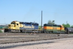 BNSF 6358 & BNSF 1791 Classifing Cars