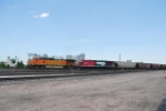 BNSF 5307 Leads A South Bound Hopper Train