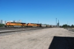 BNSF 6004 & BNSF 5861 Moving Coal South