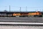 BNSF 6000 & BNSF 5869, Helpers On A South Bound Coal Train