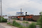 BNSF 5839 & BNSF 6087 Heads South Out Of Denver With A Coal Load