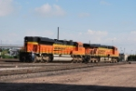 BNSF 5837 & BNSF 9396 Headed Into The Yard