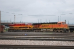 BNSF 5897 & KCS 4707 Arriving Denver