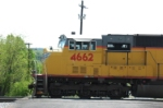 UP 4662 at Rutherford Street
