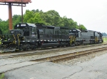 Knoxville Locomotive Works 6004, 6002, and 6003