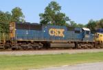 CSX 8663 on Q542