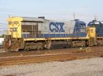 CSXT 5870 on the Engine Track