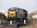 Mother/Slug Set CSXT 2355 & 6955 running the Wye