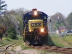 CSXT 5880 Rounds the Curve