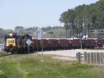 CSXT 3880 Clogging Up RiverWatch Parkway