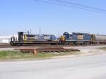 CSXT 6349 & R/C Platform 9495