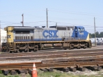 CSXT 7685 sits on the Engine Track
