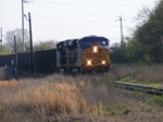 CSXT 707 leads an empty coal train back North