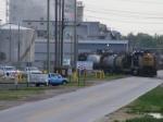 CSXT 8315 works the Columbia Nitrogen Plant