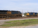 Power on Q197 meets CSXT 904