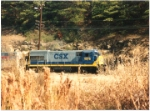 csx 1976 in Hagan's Yard in the early 1990's