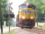 UP 3876 from Marion Enters Wabash