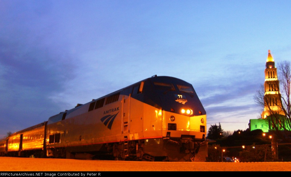 The train once known as the Twilight Shoreliner