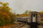 Amtrak's Silver Star Fades into the Fall Foliage