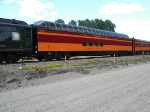 Milwaukee Road Super Dome-part of the 4449's consist