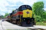 CVSR 4241 Alco Northbound engine on southbound