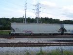 ACFX 36128 in Wheeling and Lake Erie yard Akron