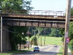 A C & Y still survives on east side of downtown Akron overpass