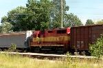 WE 2662 Switching in Akron's Brittain Yard