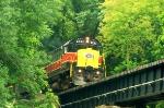 CVSR 4241 C424 headed north from Akron Northside Station