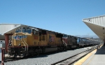 UP power for Coast Starlight at LAUPT