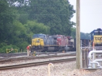 K223 by the Yard office with CSXT 441 & a CP Unit!